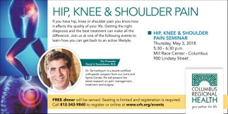 Hip, Knee And Shoulder Pain