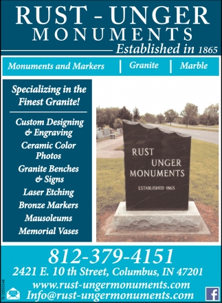 Specializing In The Finest Granite!