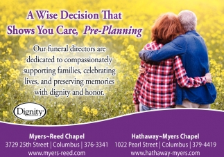 A Wise Decision That Shows You Care Pre-Planning