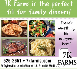 7k Farms Is The Perfect Fit For Family Dinners!