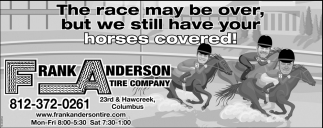 The Race May Be Over, But We Still Have Your Horses Covered!