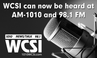 WCSI Can Now Be Heard At AM-1010 And 98.1 FM