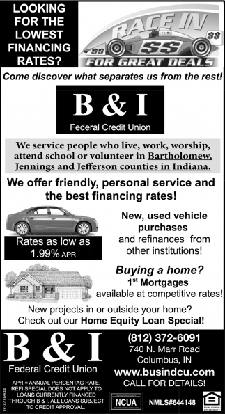 Looking For The Lowest Financing Rates?