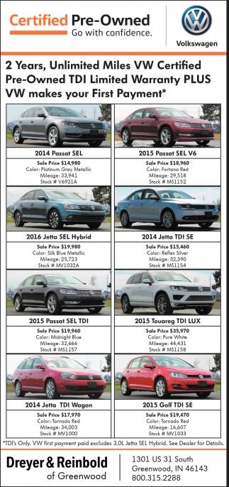 Dreyer Reinbold Subaru >> Certified Pre Owned Dreyer And Reinbold Of Greenwood
