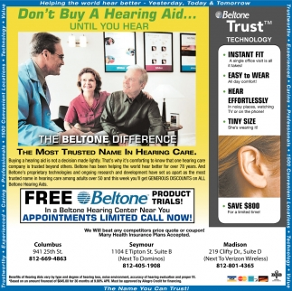Don't Buy A Hearing Aid...Until You Hear