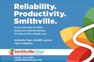 Reliability. Productivity. Smithville.
