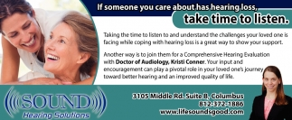 If Someone You Care About Has Hearing Loss, Take Time To Listen.