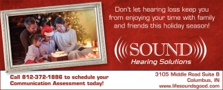 Don't Let Hearing Loss Keep You From Enjoying Your Time With Family And Friends This Holiday Season!