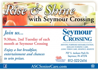 Rise And Shine With Seymour Crossing
