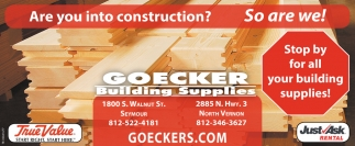 Are You Into Construction? So We Are!