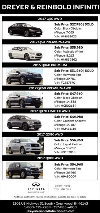 2017 Q50 Premium AWD