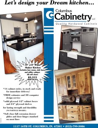 Let\'s Design Your Dream Kitchen..., Columbus Cabinetry