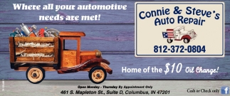 Where All Your Automotive Needs Are Met!