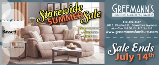 Storewide Summer Sale