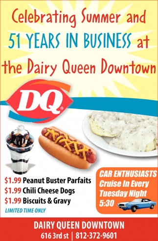 Celebrating Summer And 51 Years In Business At The Dairy Queen Downtown