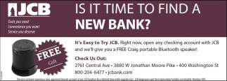 Is It Time To Find A New Bank?