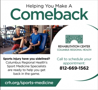 Helping You Make A Comback