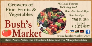 Growers Of Fine Fruits And Vegetables