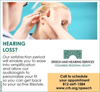 Hearing Loss?