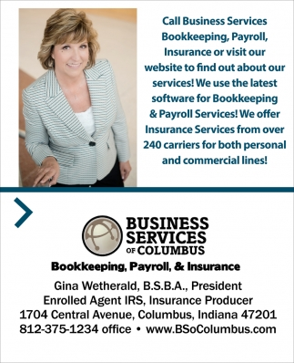 Bookkeeping, Payroll And Insurance
