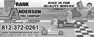 Race In For Quality Service Today!