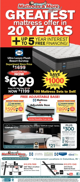 Greatest Mattress Offer In 20 Years