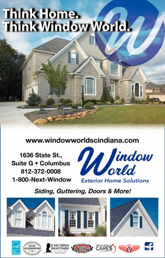 Think Home. Think Window World.