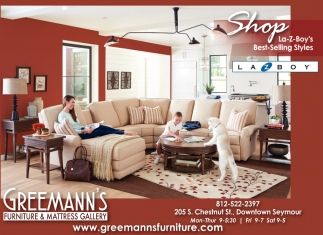 Ads For Greemannu0027s Furniture And Mattress Gallery In Seymour, IN