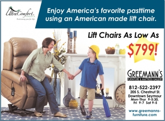 Lift Chairs As Low As $799!