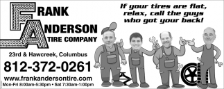 If Your Tires Are Flat, Relax, Call The Guys Who Got Your Back!
