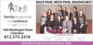 Back Pain, Neck Pain, Headaches?