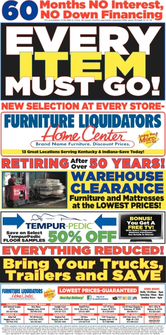 Brand New Furniture. Discount Prices.