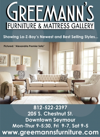 Showing La Z Boyu0027s Newest And Best Selling Styles.., Greemannu0027s Furniture  And Mattress Gallery, Seymour, IN