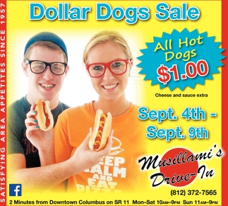 Dollar Dogs Sale