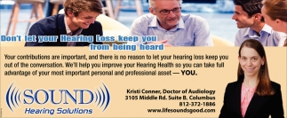 Don't Let Your Hearing Loss Keep You From Being Heard
