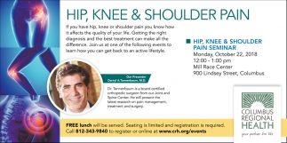 Hip, Knee & Shoulder Pain