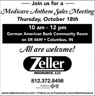 Medicare Anthem Sales Meeting
