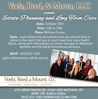 Estate Planning And Long Term Care