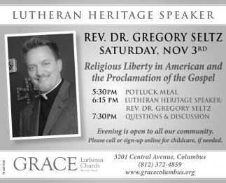 Lutheran Heritage Speaker