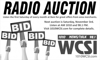 Radio Auction