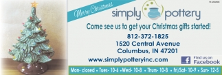 Come See Us To Get Your Christmas Gifts Started!