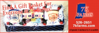 Find A Gift Basket For Everyone At 7K Farms!