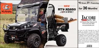 New RVT-XG850
