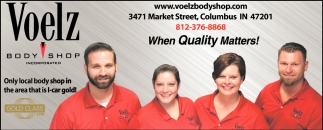 Only Local Body Shop In The Area That Is Icar Gold!