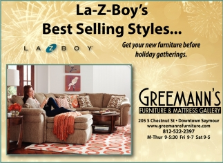 La-Z-Boy's Best Selling Styles...