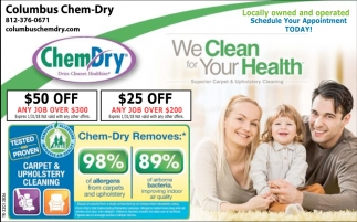 We Clean For Your Health