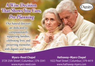 A Wise Decision That Shows You Care, Pre-Planning
