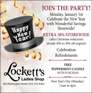 after christmas sale locketts ladies shop columbus in - Day After Christmas Ads