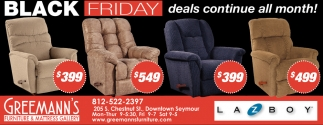 Black Friday Deals Continue All Month!