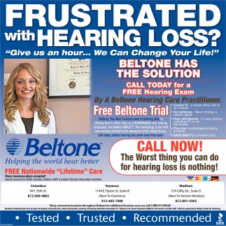 Frustrated With Hearing Loss?